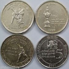 SRI LANKA 2 DIFFERENT CRICKET COINS