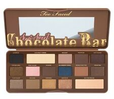 Too Faced Semi Sweet Chocolate Bar Eye Shadow Palette 100% Natural Cocoa Powder