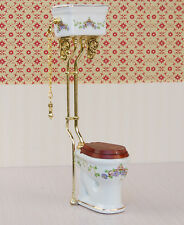 1:12 Dollhouse Miniature Flush toilet Puppenhaus