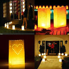 20pcs Tealight Luminaria Paper Lantern Candle Bag For BBQ Xmas Party Wedding