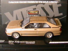 AUDI QUATTRO COUPE GOBI METALLIC 1981 VITESSE 20779 1/43 LIMITED EDITION 668 PCS