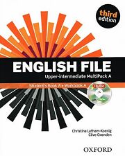 ENGLISH FILE Upper-Intermediate Third Edition MultiPack A +iTutor +iChecker @NEW