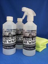 Sin agua o Waterless Car Wash Kit-Increíble Oferta, eche un vistazo