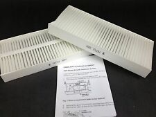 *Set of 2* Cabin Air Filter Elements Fits Nissan Infiniti 999M1-VP005 FREE SHIP