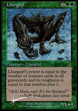 1x Lhurgoyf MTG Foil NM, English Deckmasters 2001 Box Set