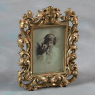 """Ornate Antique Gold Baroque Style Photo Photograph Picture Frame 7 """"x5"""" Gift"""