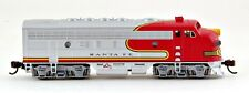 Bachmann N Scale Train F7 A Diesel Locomotive DCC Equipped Santa Fe 63755