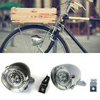 Retro Bike Bicycle 3 LED Light HeadLight Head Lamp Front light with Bracket