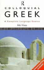 Colloquial Greek: A Complete Language Course (Paperback)-ExLibrary