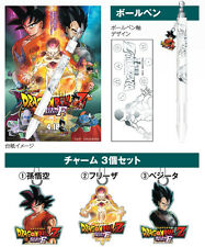 Revival of F Frieza Dragonball 2015 Movie Limited Edition Pen with 3 charms RARE