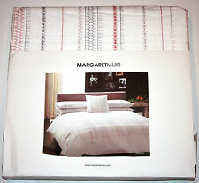 MARGARET MUIR Double DUVET Cover w/ 2 Pillowcases DEACON 100% Cotton 200 Thread