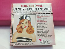 The Balm Cindy Lou Manizer Highlighter Face & Eyes powder Shimmer & Shadow 0.3oz