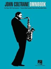John Coltrane Omnibook for Bass Clef Play JAZZ Trombone Cello Bassoon Music Book