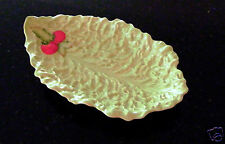 "CARLTONWARE HANDPAINTED 11 1/2"" x 7"" SERVING DISH, MADE IN UK, AUSTRALIAN DESIGN"