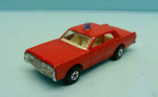BRA14/1235 MATCHBOX / SERIE 75 / SUPER FAST / N°55 MERCURY FIRE CHIEF