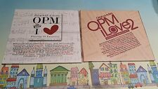 The OPM I Love Vol 1 and Vol 2 - 2CDs - Regine Janno Joey Agaod Jaya - Sealed
