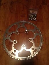 Willow Tripleizer Chainring - Triple Crank Adaptor - Rivendell - 130 bcd - 46t