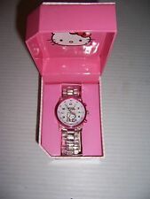 Hello Kitty Women's Girl's HK2186S Character Watch NEW!
