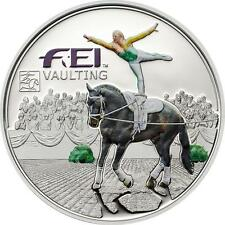 Vaulting, Equestrian FEI - 2013 Andorra Ag and Color