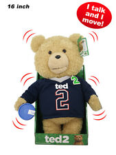 "TED 2 - Ted 16"" Animated Plush Jersey Outfit with Sound by Commonwealth #NEW"