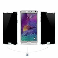 FOR SAMSUNG GALAXY NOTE 4 PRIVACY TEMPERED GLASS HD SCREEN PROTECTOR
