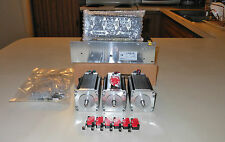 Gecko G540 Rev 8 & Mach3 Full License & 48v 12.5a & 3 Nema 300oz Motors