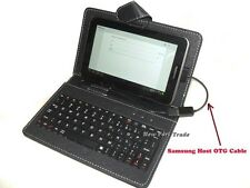 "7"" 7 inch Keyboard Case Cover 4 Samsung Galaxy Tab 2 GT P3113 P3100 P3108 P6210"