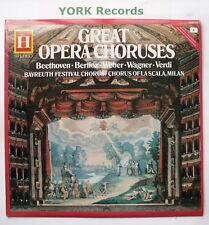 2548 212 - GREAT OPERA CHORUSES - Beyreuth Festival Chorus - Ex Con LP Record
