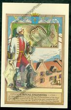 Sr. Captain M. dePontleroy, Fort Carillon 1758 (notmailedpost card,(MY#926