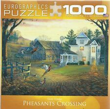 PHEASANTS CROSSING North American Art by Sam Timm 1000 Pc Puzzle EuroGraphics