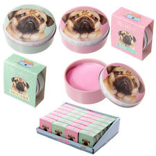 Lip Gloss in a Tin - pug dog design stocking filler lip balm