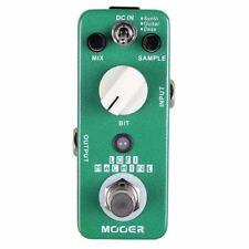 NEW Mooer LOFI MACHINE Sample Reducing Guitar Pedal w/ True Bypass