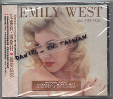 Emily West: All for you (2015) America's got talent / CD OBI TAIWAN