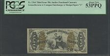 Fr1364 50¢ 3Rd Issue Fractional Note Pcgs 53 Ppq Bs2637