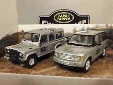 CORGI VANGUARDS LAND ROVER 4X4 EXPERIENCE DEFENDER CAR MODEL SET LR1002 1:43