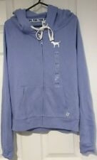 BNWT Victoria's Secret Pink purple Small Hoodie full Zip top Jacket UK 6-8
