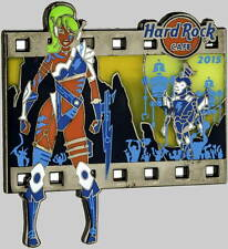 Hard Rock Cafe ONLINE 2015 GIRLS & DROIDS Series PIN on CARD LE 200 Star Wars!