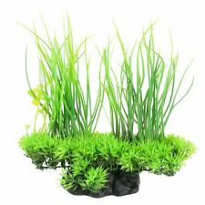 Aquarium Plastic Plant Tropical Aquatic Artificial Green Grass Fish Tank Plants