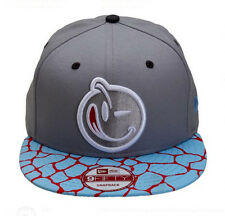 NEW Authentic YUMS New Era Classic Giraffe's Ass Gray/Blue/Pink Snapback 449S