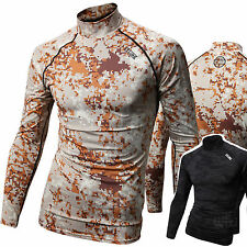 Herren Beach Water Sports Rash Guard Wetsuits Ärmel Sommer Bademode Top - K616
