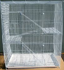 NEW Large 4 level Ferret Chinchilla Sugar Glider Mice Rat Cage 404 White 658