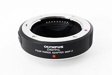 Olympus MMF-2 Micro Four Thirds to Four Thirds Lens Mount Adapter 4/3【Near Mint】