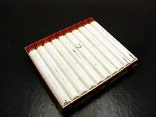 Vintage Retro Art Deco Cigarette Depiction Cigarette Case Holder Folding Locking