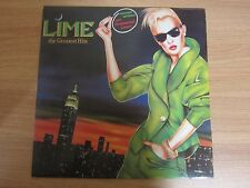LIME - The Greatest Hits Korea LP 1986 ITALO DISCO