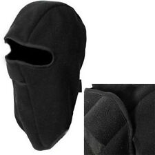Unisex Motorcycle Thermal Fleece Hat In Helmet Winter Full Face Neck Mask Cover