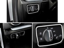 For Audi A3 8V 2012 - 2015 Stainless Chrome Head Light Switch Control Trim Cover