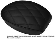 DIAMOND BLACK ST CUSTOM FITS HARLEY SPORTSTER 883 48 72 REAR LTHR SEAT COVER