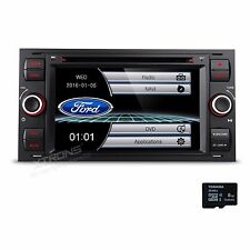 Black Car DVD Radio Bluetooth GPS Navigation Stereo for Ford Focus Mondeo S-Max