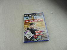 Jeu pour console Playstation 2, PS2, Monopoly Classic, PAL, en allemand