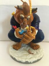 Beast From Beauty Disney Grolier Christmas Magic 125 Ornament In Box